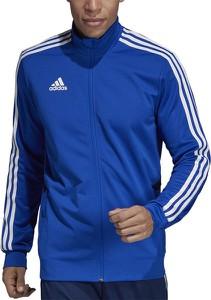 Niebieska bluza Adidas z dzianiny