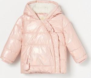 Różowa kurtka dziecięca Reserved dla dziewczynek