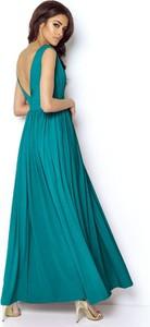 Sukienka Ivon bez rękawów maxi
