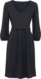 Sukienka bonprix z dekoltem w kształcie litery v w stylu casual