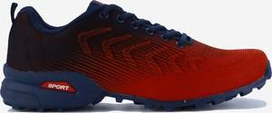 Czerwone buty sportowe Yourshoes ze skóry