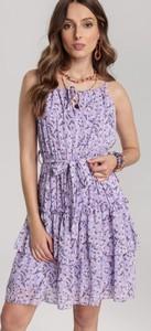 Sukienka Renee bez rękawów z dekoltem halter mini