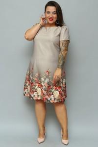Sukienka KARKO trapezowa midi