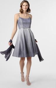 Sukienka Luxuar Fashion mini na ramiączkach rozkloszowana