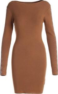 Sukienka Multu w stylu casual z długim rękawem mini