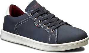Sneakersy GINO LANETTI - MP07-16901-02 Granatowy