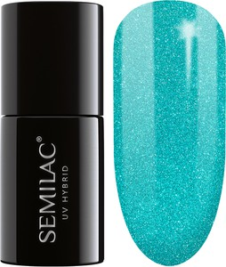 Semilac, lakier hybrydowy 020 green glass