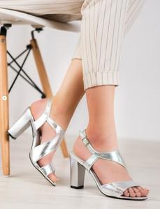 Srebrne sandały Czasnabuty