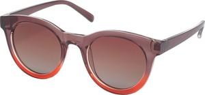 Czerwone okulary damskie Pilgrim