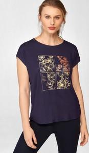 T-shirt ORSAY w młodzieżowym stylu z okrągłym dekoltem