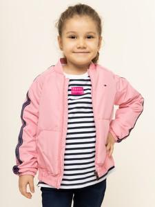 Różowa kurtka dziecięca Tommy Hilfiger