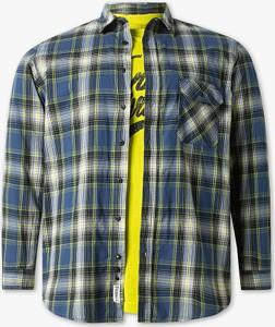 Koszula ANGELO LITRICO z długim rękawem z bawełny z klasycznym kołnierzykiem