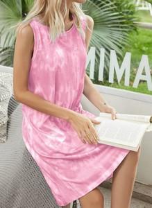 Różowa sukienka Cikelly