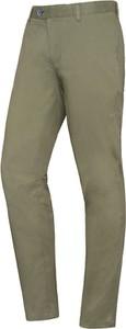 Zielone chinosy Lavard z tkaniny