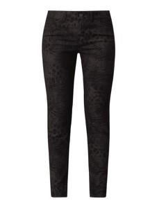 Czarne jeansy Christian Berg Women w stylu casual z bawełny
