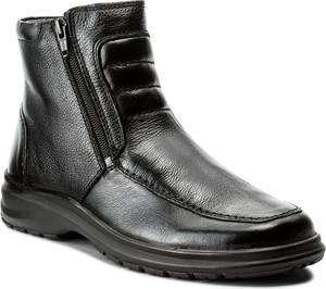 Szare buty zimowe comfortabel