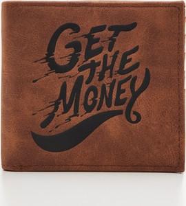 Brązowy portfel męski Cropp