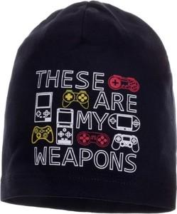 Czarna czapka Ambra