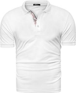 Risardi męska koszulka polo yp312 - biała