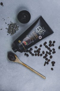 Bathbee Sp. Z O.o Kawa - 100% naturalny peeling miodowy/ tuba 175 ml