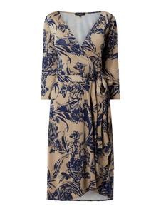 Sukienka Ilse Jacobsen z dżerseju z dekoltem w kształcie litery v w stylu casual