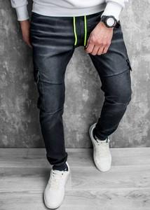 Czarne jeansy Recea