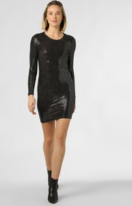 Czarna sukienka Noisy May z okrągłym dekoltem