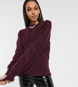 Fioletowy sweter Missguided Tall