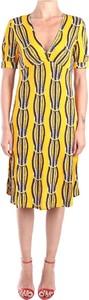 Żółta sukienka Jucca