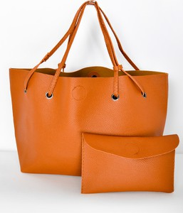 Pomarańczowa torebka Zoio