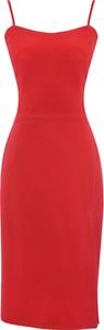 Czerwona sukienka Kasia Zapała midi
