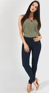 Granatowe jeansy Royalfashion.pl