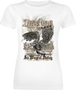 T-shirt Emp z okrągłym dekoltem w młodzieżowym stylu z nadrukiem