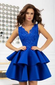 Sukienka Bicotone rozkloszowana mini