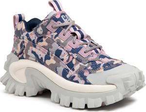 Buty sportowe Caterpillar sznurowane na platformie