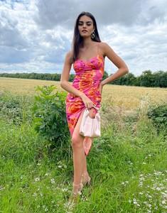 Sukienka Asos bandażowa midi