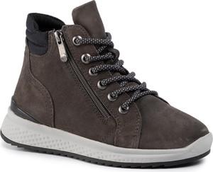 Sneakersy Marco Tozzi na platformie sznurowane