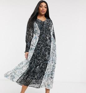 Sukienka Vero Moda Curve z dekoltem w kształcie litery v