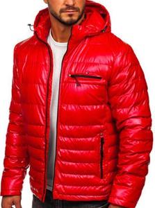 Czerwona kurtka Denley krótka