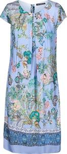 Sukienka Betty Barclay w stylu casual mini z krótkim rękawem