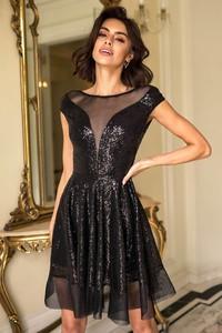 Sukienka Popatu mini z krótkim rękawem
