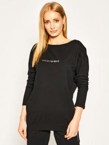 Czarna bluza Emporio Armani krótka