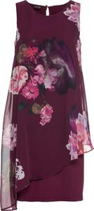 Sukienka bonprix BODYFLIRT z okrągłym dekoltem asymetryczna midi
