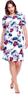 Sukienka M&m z okrągłym dekoltem z krótkim rękawem w stylu casual