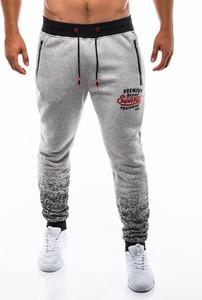 Spodnie sportowe Edoti z dresówki w sportowym stylu