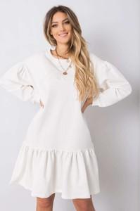 Sukienka Sheandher.pl z bawełny z długim rękawem w stylu casual