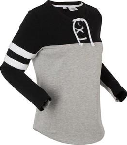 Bonprix bpc bonprix collection bluza z wiązanym troczkiem, długi rękaw