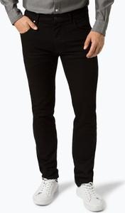 Czarne jeansy Bugatti z jeansu