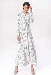 Sukienka Nife z długim rękawem