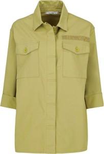 Zielona kurtka NA-KD w stylu casual